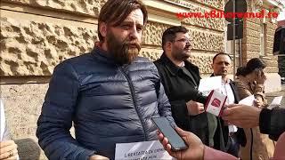 eBihoreanul.ro - Magistrații din Oradea au protestat în aplauze