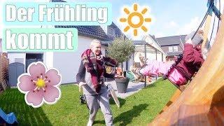 Vorfreude auf den Osterhasen 🐰 | Garten aufräumen | Familien Wochenende | Isabeau