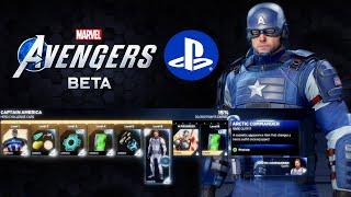 Captain America BETA GLITCH! | Marvel's Avengers Game