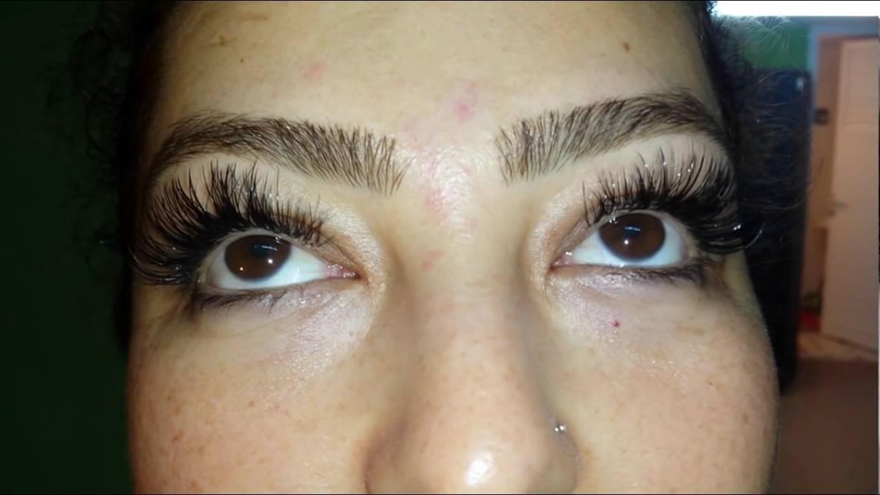 Extreme Length 14 Mm Individual Eyelash Extensions
