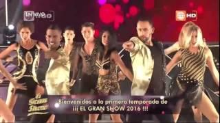 El Gran Show - Gisela inició así el programa - 30/04/2016
