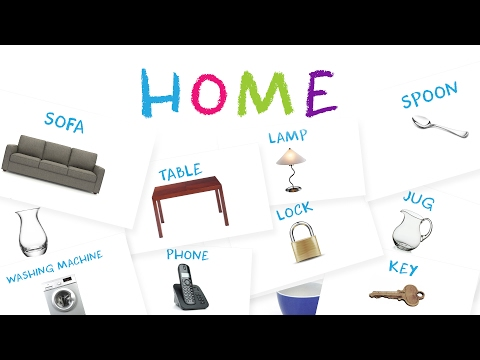 Learn Furniture & Common House Objects for Kids