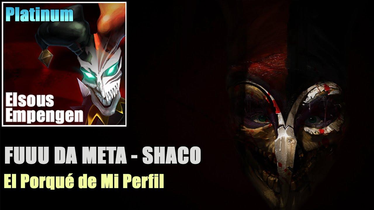 Shaco Build S7: FUUU DA META 2.0 Shaco SUPPORT - El Porqué De Mi