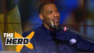 Kenyon Martin talks pressure on Lonzo Ball, Devin Booker, MVP | THE HERD (FULL INTERVIEW)