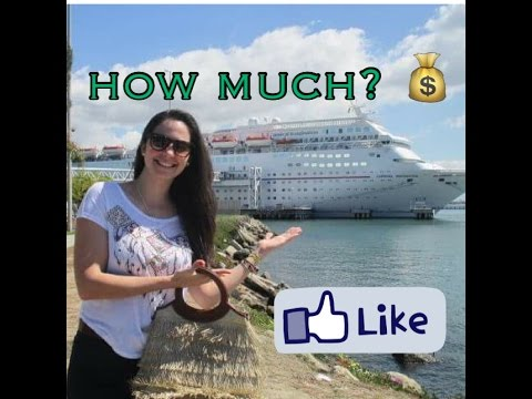 Working on a cruise ship - 10 - Costs (How much do we spend? Get ready!!)