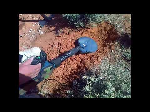 One Of My Hobbies. Gold Detecting At Tiboburra, NSW  V38