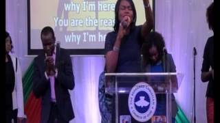 Ministration by the Eternal Worshippers choir of RCCG EFA Leeds