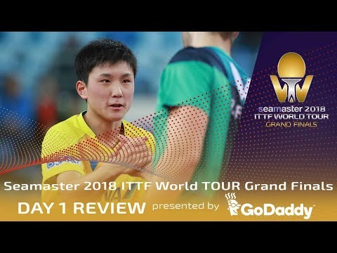 Day 1 Review by GoDaddy | 2018 ITTF World Tour Grand Finals