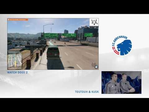 Kusk og Toutouh prøver det nye Watch Dogs 2-spil