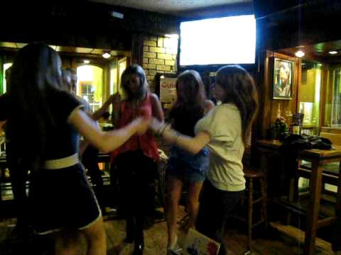 Body knows dancing irish girl
