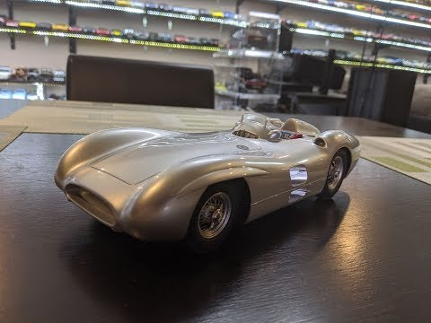 1:18 Diecast Review Unboxing of the Mercedes Benz W196 SLR by CMR