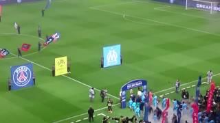 PSG OM: entrée des joueurs