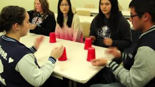 Pitch Perfect CUPS Flashmob BMIHMS Talent Group