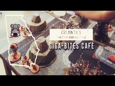 Atlanta's Tabletop Gaming Store: Giga-Bites Café