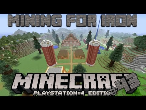 Minecraft PS4 Survival #43 | Mining For Iron!