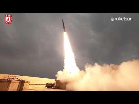 ROKETSAN Uydu Fırlatma Sistemi Testlerine Devam Ediyor