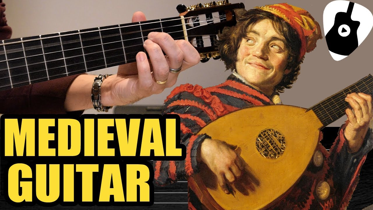Aprende fácil como tocar música MEDIEVAL en GUITARRA CLÁSICA   Greensleeves Tablatura Tutorial TCDG