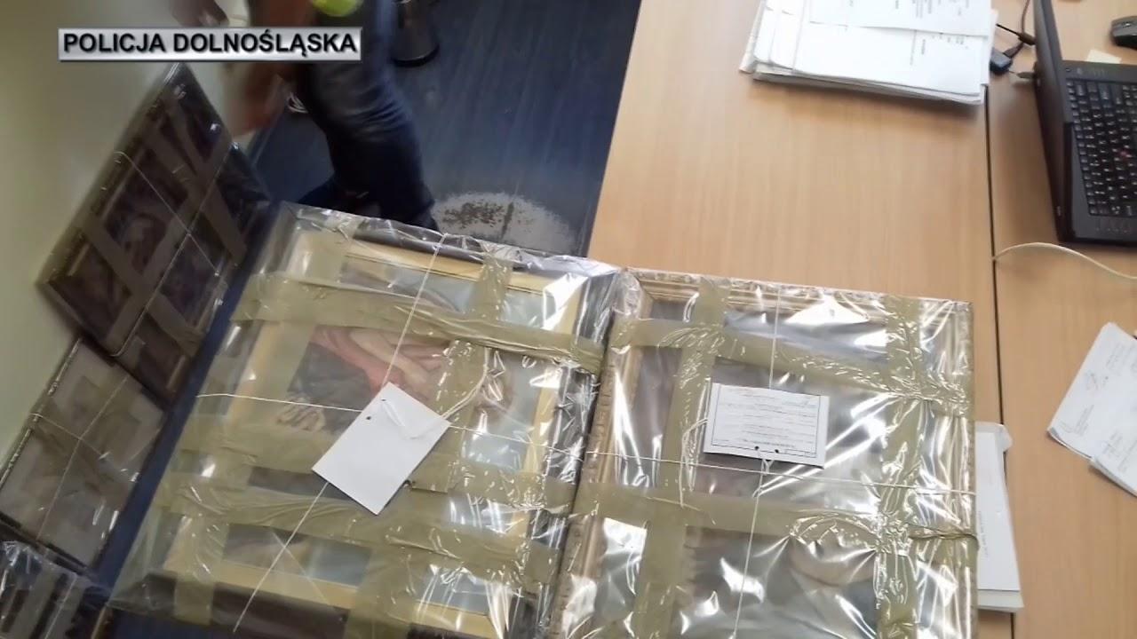 Oleśnica – fałszywe obrazy za pół miliona złotych