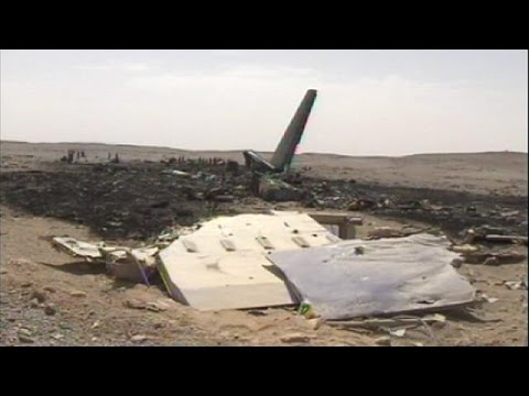Ukrainian cargo plane crashes in Algeria