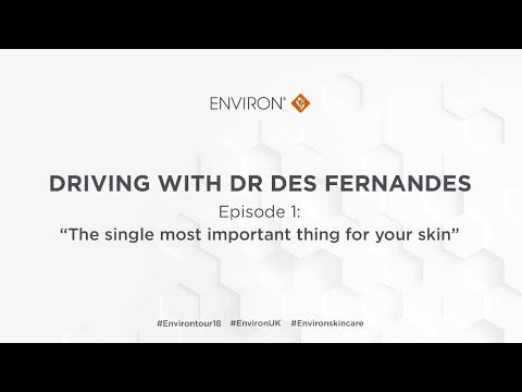 Driving with Dr Des Fernandes