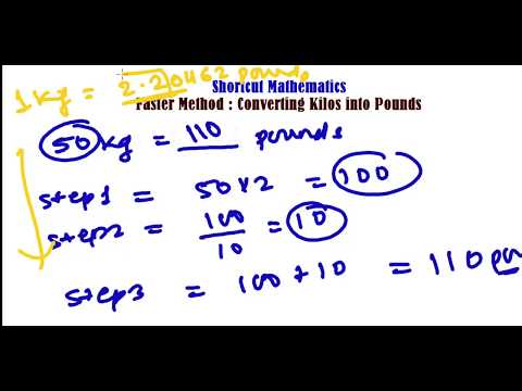 fast-method-to-convert-kg-to-pounds-(lbs)---unit-conversation-trick---fast-math-calculation
