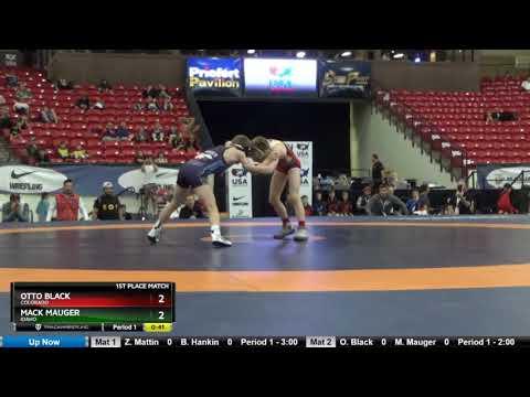 Schoolboy 71 Otto Black Colorado Vs Mack Mauger Idaho
