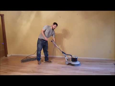 How To Use A WoodFflooring Buffer