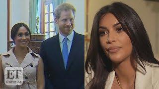 Kim Kardashian On Harry And Meghan Backlash