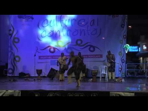 """Burkina Faso - Esibizione a """"Culture a Confronto"""" 2^ Edizione - Tropea 2014"""