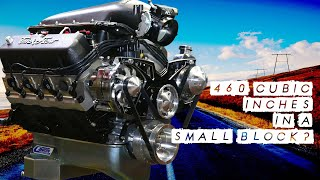 Absolutely Massive! We Manage to Squeeze 460 Cubic Inches Into a Ford Windsor Small Block