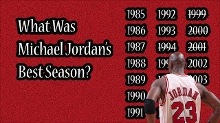 Download What Was Michael Jordan's Best Season? Mp3 and Videos