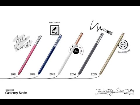 samsung galaxy note 5 s pen trick and tips part 2 youtube
