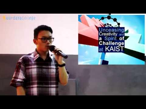 Kuliah di KAIST Video Seminar Edukasi Full Scholarship in South Korea oleh Joshua Julio Adidjaja