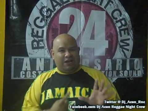 Dj Acon Reggae Night Crew -  Video Drop VI Aniversario Black Community Crew