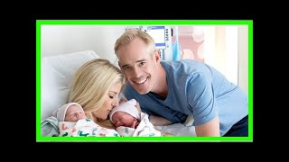Joe Buck and Michelle Beisner Welcome Twin Boys — See Their First Photos