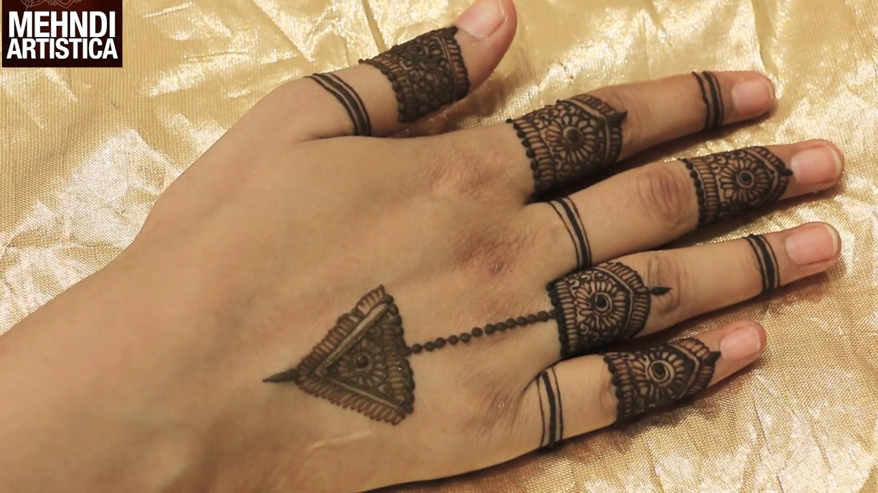 Beautiful Fingers Mehndi Designs For Hands Easy Simple Designer