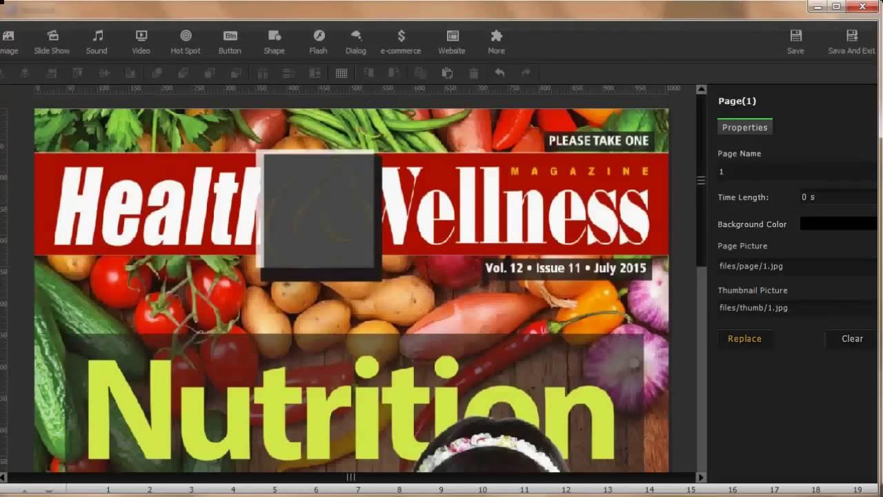 mobissue free html5 magazine maker for make your own magazine online