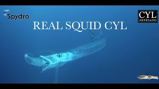 1 TEST REAL SQUID CYL ARTESANO