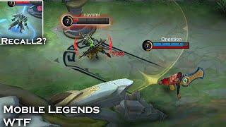 WTF Funny Moments Episode #982| Mobile Legends WTF