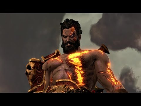 Deimos Vs Helios With Different Background Music & Blades Of Athena (God Of War 3)