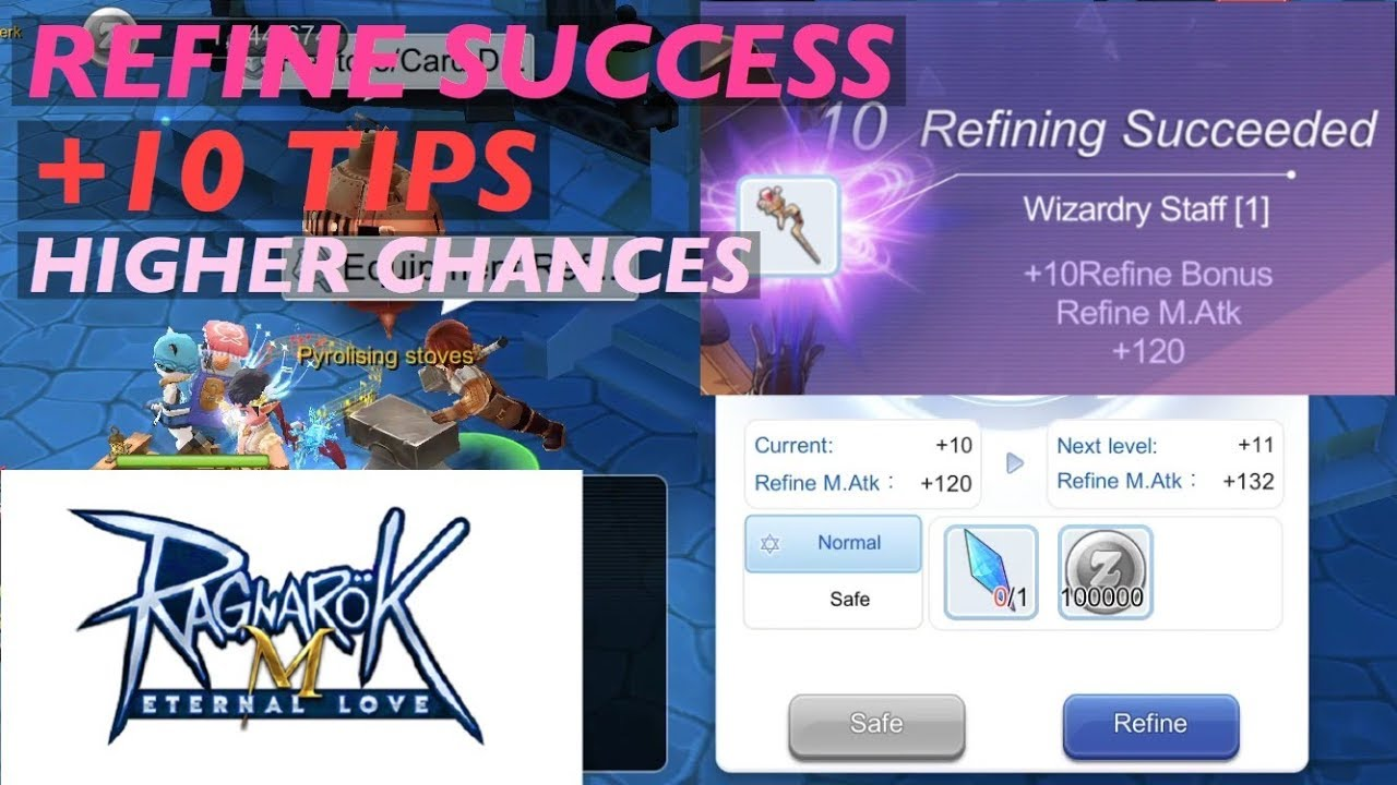 STORY: MY REFINE +10 SUCCESS TIPS | Ragnarok Mobile Eternal Love SEA