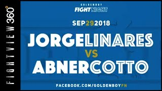 LINARES VS COTTO FIGHT WEEK PREVIEW! 9/29 GOLDEN BOY FACEBOOK FIGHT NIGHT! HOW DOES JORGE DO AT 140?