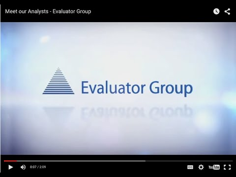 Meet our Analysts - Evaluator Group