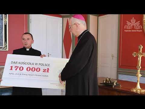 Podziękowanie Przewodniczącego Episkopatu za zbiórkę na pomoc krajom misyjnym
