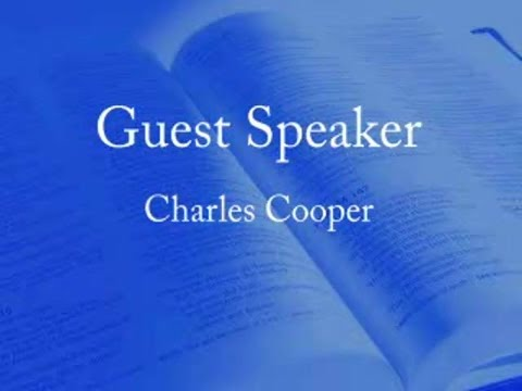 God Punishes Our Iniquities Charles Cooper