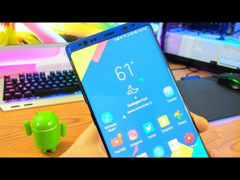 What's on my Note 8 2018