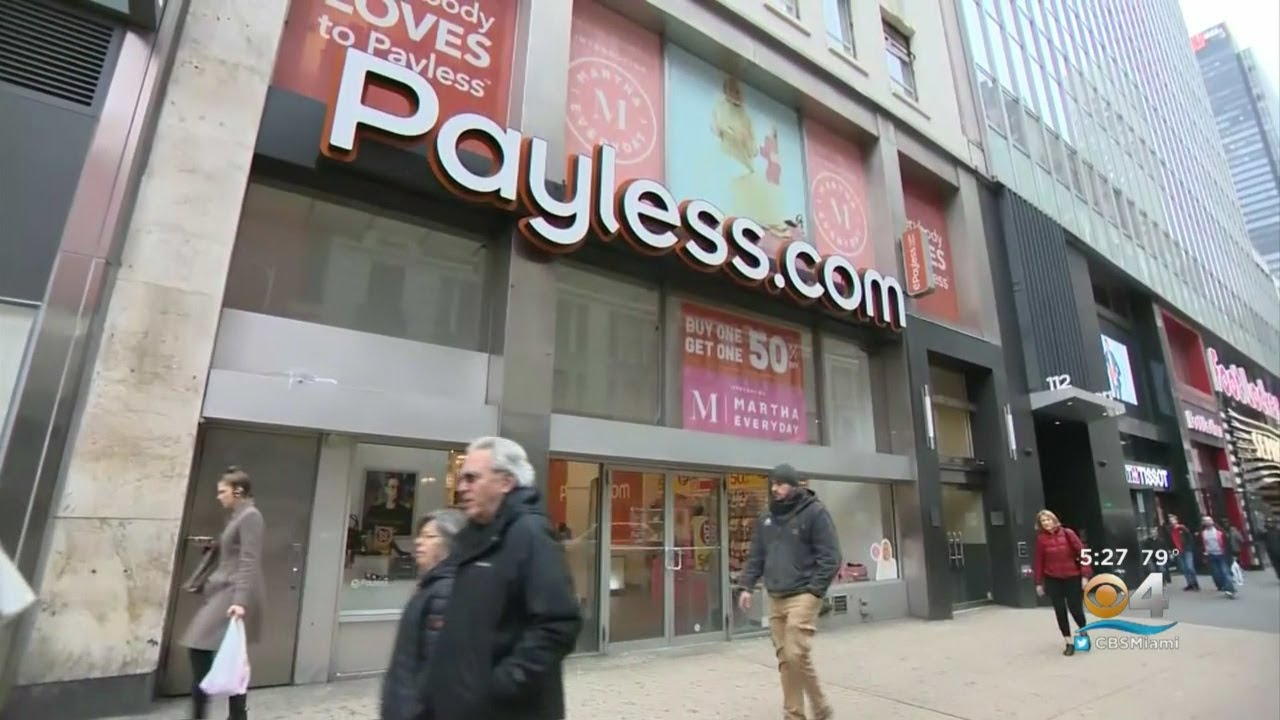 Payless ShoeSource plans to liquidate and close all US stores