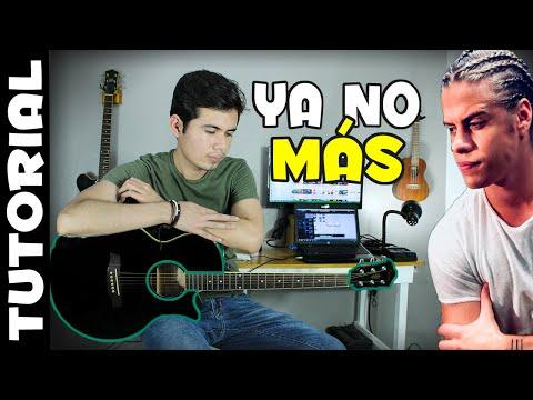 Ya No Más - Go! Vive A Tu Manera Guitarra Tutorial   Santiago Saez thumbnail