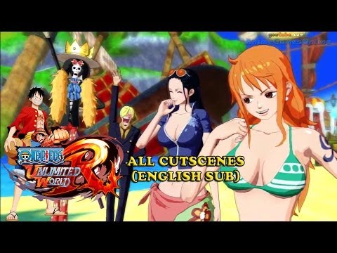 One Piece Unlimited World Red All Cutscenes English Sub