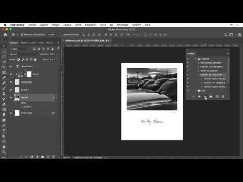 ACTIONS et SCRIPT avec Photoshop : puissance du Javascript